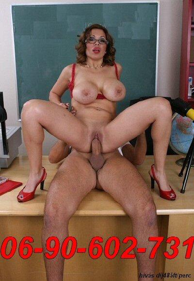 Gecire éhes, szexőrült tanárnő vár